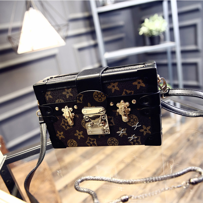 Fashion Box Bag Women Luxury Retro Handbag Ladies Designer Bag Small Square Messenger Bags Girl Chain Shoulder Purse Bolso Mujer