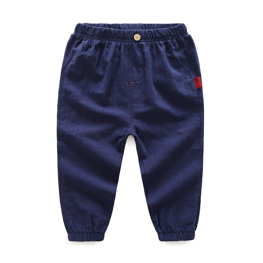 2017 D'été enfants Anti-moustique pantalon coton Mince Frais rafraîchissant Loisirs bébé Enfant harem pantalon Enfants vêtements vêtements