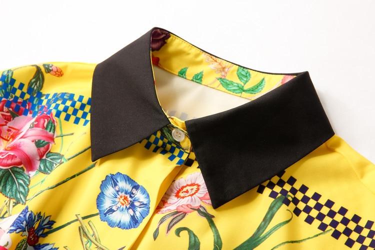 De Partie Luxe Qualité Mode Printemps Design Femmes Marque Ws12391 Robe Nouvelles Haute Européenne 2019 Style 7BF8tqw7