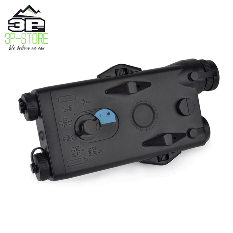 Image 2 - WADSN Airsoft Tactical AN peq PEQ 2 Battery Case Red Laser For 20mm Rails No Function PEQ2 Box WEX426-in Weapon Lights from Sports & Entertainment