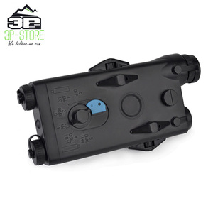 Image 2 - WADSN Airsoft Tactical AN peq PEQ 2 Battery Case Red Laser For 20mm Rails No Function PEQ2 Box WEX426