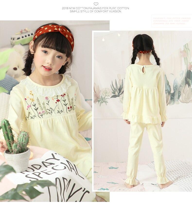Girl Pajama Cotton 12