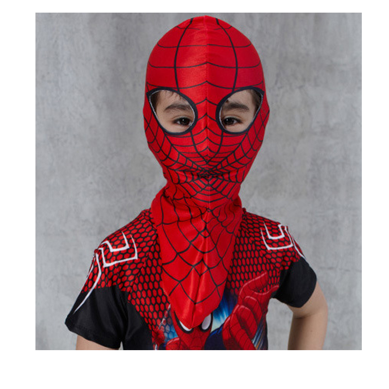 <font><b>Spiderman</b></font> <font><b>Mask</b></font> <font><b>Costume</b></font> <font><b>Ski</b></font> <font><b>Mask</b></font>-Red Superhero Halloween <font><b>Mask</b></font> for Kids Cap Face <font><b>Mask</b></font> Facekini