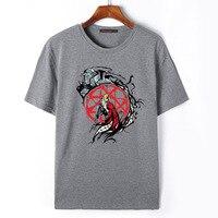 Flevans Fullmetal Alchemist Edward Elric Anime hombres Del Verano T Shirt Camiseta de Manga Corta de Ropa de Marca Para Hombre Casual Top Tees