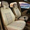 (Только 2 спереди) Универсальный автомобиль чехлы Для сидений Toyota Corolla Camry Rav4 Auris Prius Yalis Avensis автомобиля SUV аксессуары стиль