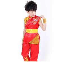 Boy Tae Kwon Do Kids Wushu Boy Chinese Traditional Clothing China Kungfu Suit Kung Fu Uniforms For Boys China Kungfu Costumes