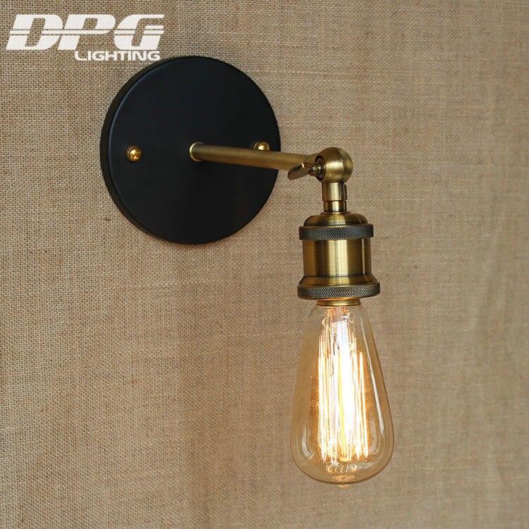 Divarlı çıraq lampası Loft Antik yelləncək Uzun qol işıqları - Daxili işıqlandırma - Fotoqrafiya 3
