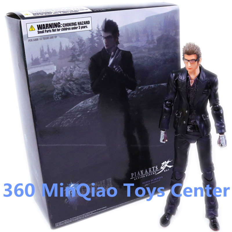Play Arts KAI Final Fantasy XV Ignis Scientia PVC Action Figure Collectible Model Toy 26cm RETAIL BOX WU901 original play arts kai final fantasy xv 15 lunafreya nox fleuret pvc action figure collectible model toy 25cm
