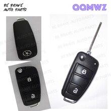 JAC J3 J3S J5 J6 ключа Автомобиля shell, складной, пульт дистанционного управления Автомобильный ключ модификация