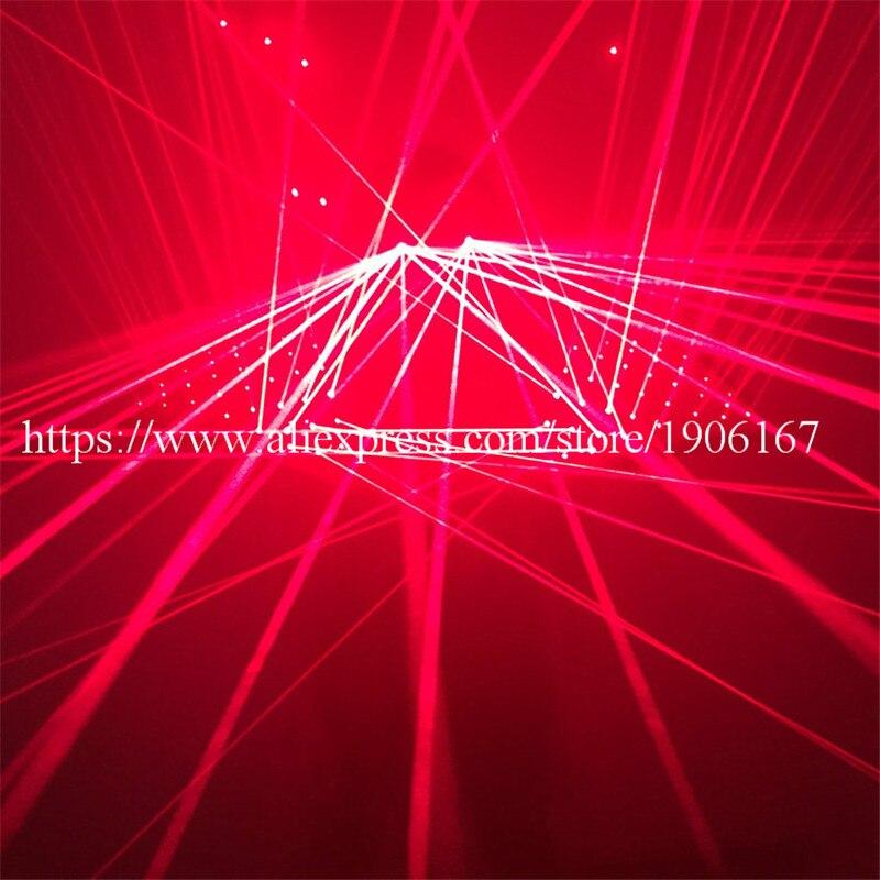 Hot Sale Laserman Costumes Shoulder DJ Red Laser Robot Suit  Vest Luminous Waistcoat With 92Pcs lasers Laser Glasses For PartyHot Sale Laserman Costumes Shoulder DJ Red Laser Robot Suit  Vest Luminous Waistcoat With 92Pcs lasers Laser Glasses For Party