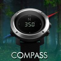 Skmei Brand Compass Men LED Digital Military Watch, 50M Dive Swim Military Men Sports Watches Fashion Compass Wristwatches
