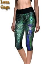 High Waist Yoga Pants Plus Size Women Yoga Pants Capri Length Sport Leggings Yoga Pants Fitness Wear Ropa Deportiva Mujer Gym XL