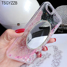 For Huawei Honor 9 10 Lite 8 V8 7X 6X 5X Case Glitter Dynamic Liquid Quicksand Phone Back Cover For Huawei Mate 8 9 Pro 10 Lite