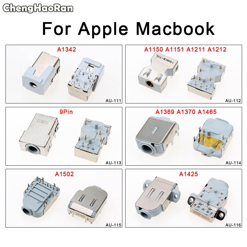 ChengHaoRan Audio Jack Socket Connector For Macbook Pro Air 11