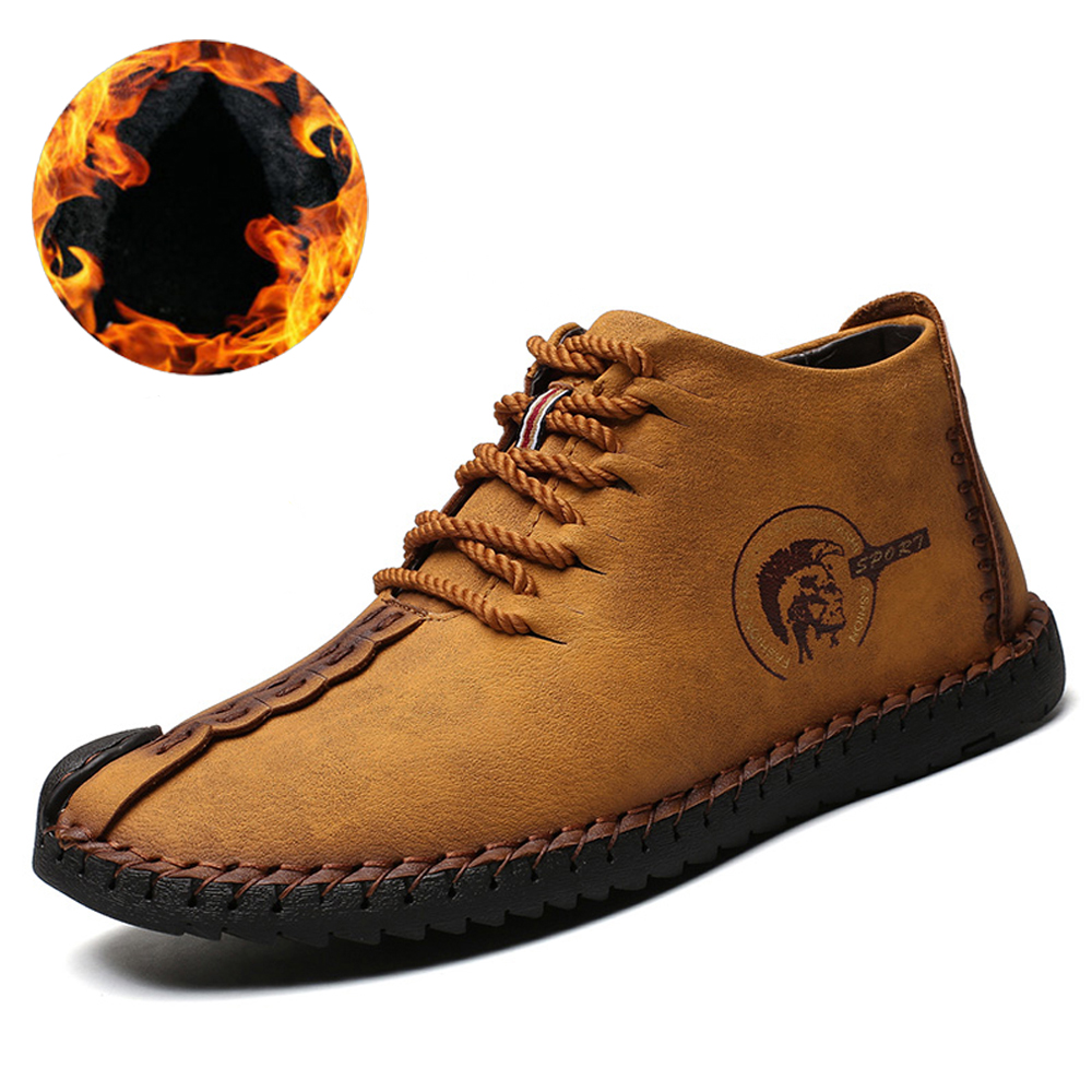 Big Size 2018 New Comfortable Casual Boat Shoes Loafers Men Shoes Quality Split Shoes Men Flats