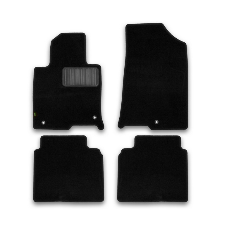 цена на Carpet mats interior For NISSAN Juke, 2010-2014, 2014-> clip R/N 4 PCs (polyurethane)