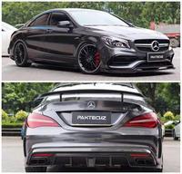 Carbon Fiber Front Bumper Lip Spoiler Auto Car Diffuser Fits For Benz CLA 45 W117 C117 CLA 200 250 260 2013 2018