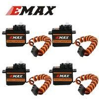 1 Uds EMAX Original ES08A II 8,5g Mini engranaje de plástico analógico Servo para RC modelo (es08ma es08md es08a) 40%