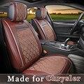 Кожаный чехол автокресла для Chrysler 300c 200 pacifica 5 Подушки Сиденья 4 Сезон Полное покрытие сиденья Защиты Одеяло 0411