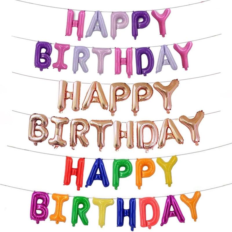 Happy Birthday Balloon BabyShower Nytår Julebrev Balloner - Varer til ferie og fester - Foto 2