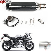 For SUZUKI HAYABUSA/GSXR1300 SV1000/S RF 600R For YZF R1 2002 2003 Motorcycle Exhaust Pipe Modified Muffler Pipe