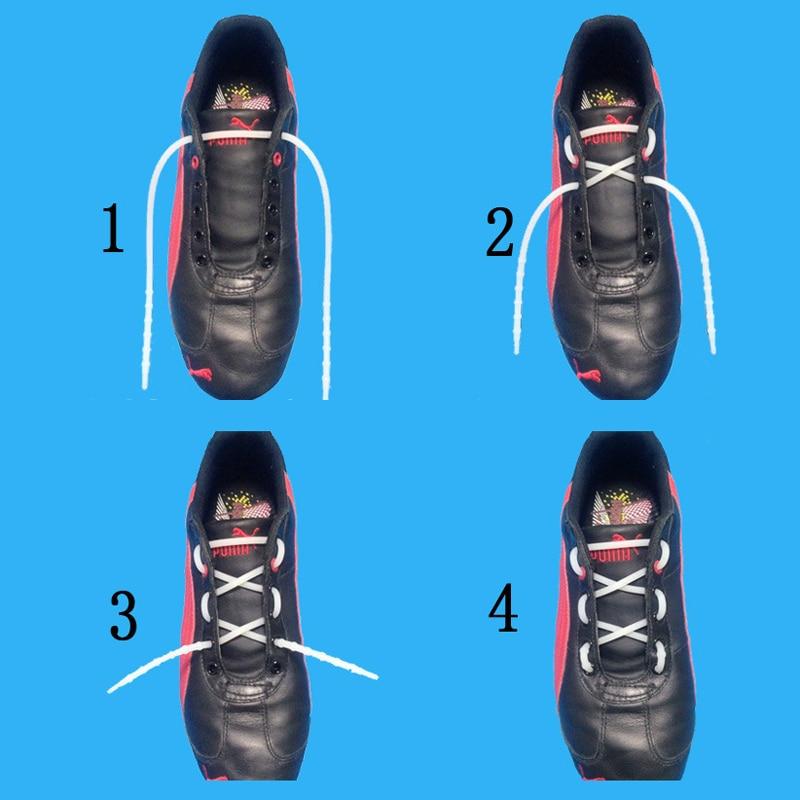 1 50Pelastic shoe strings sapatilha triathlon shoelaces cordones para botas triathlon cordon elastico zapatilla laces shoes lace in Shoelaces from Shoes