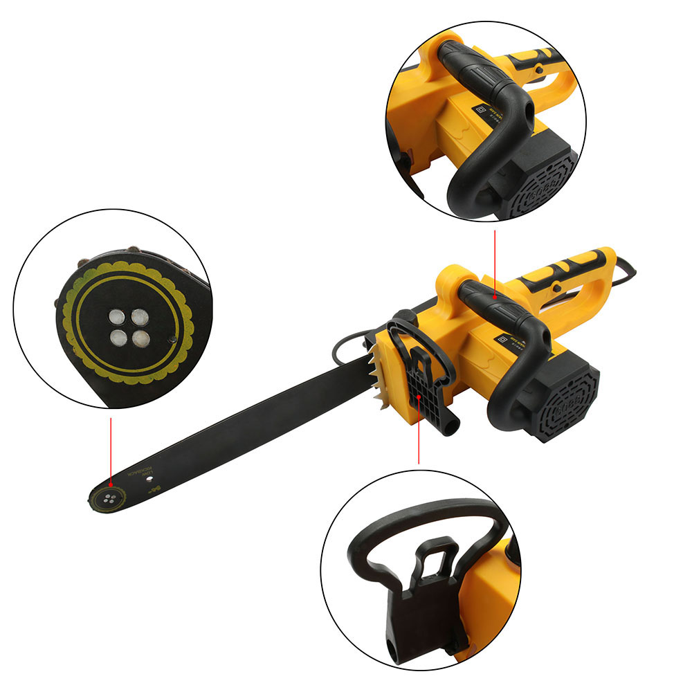 где купить HIMOSKWA Electric Chain Saws 2200W Chainsaw Logging Chainsaw Household Wood Chainsaw cutting machine по лучшей цене