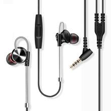 W3 Original Metal Magnetic Earphones Super Bass Stereo HiFi Headset Sport Running Ear Hook Earbuds Headphones with Mic