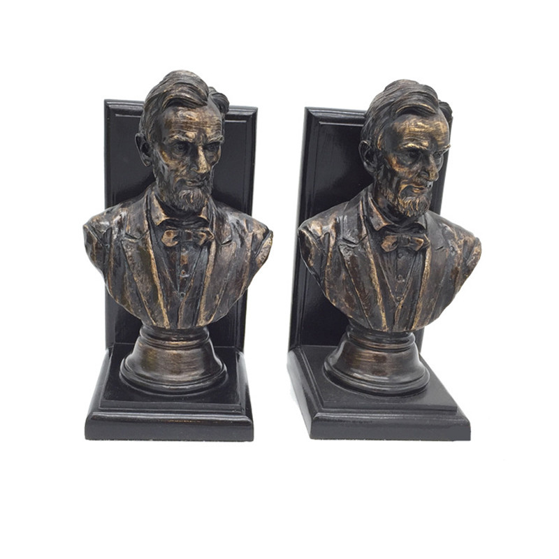 POTUS Bookends Bust Statue United States of America Statesman Resin Craftwork Office Living Room Decoration Gift L2346POTUS Bookends Bust Statue United States of America Statesman Resin Craftwork Office Living Room Decoration Gift L2346