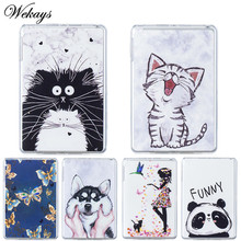 Wekays For Samsung Galaxy Tab A6 A 2016 10.1 T585 T580 T580N T585N Cartoon Soft Silicone Cover Case For Samsung Tab A 6 A6 Shell 2018 new women wallet long genuine leather ladies purse phone holder female clutch big capacity for women coin card purse
