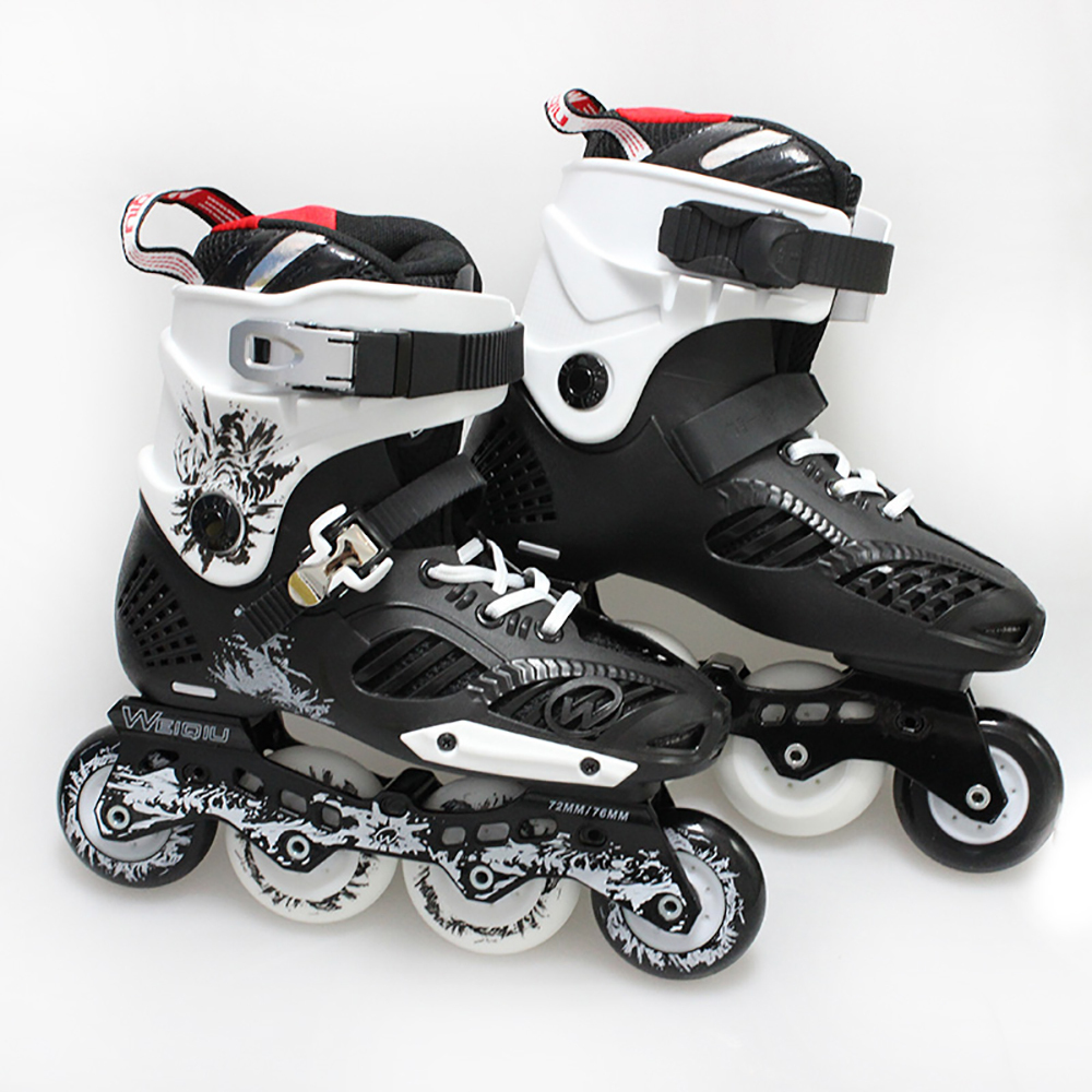 Roller skate shoes malaysia - Aliexpress Com Buy Weiqiu Ars Adult Four Wheels Roller Skates Shoes Breathable Impact Resistant Bk Outdoor Sport Rollerblade Patins For Men Women From