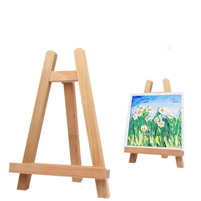 wood display holder artist tripod painting easel photo painting