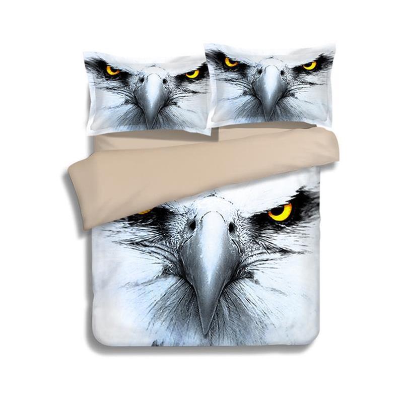 American Eagle Bedding: 2/3 Pcs 100% Microfiber 3d Bedding Sets American Eagle