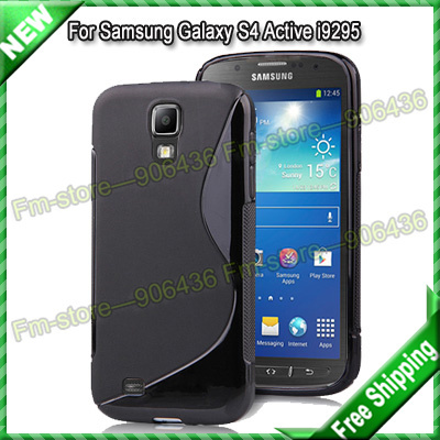 Galaxy S4 Active i9295 case, S line Soft TPU Gel Case