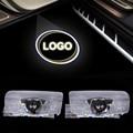 2 UNIDS Más Nuevo Car Styling LED Bienvenido Logo Puerta Láser Disparar lámpara de luz Para Lexus LS270 RX450H EX250 GS300 ES300 ES240 RX350
