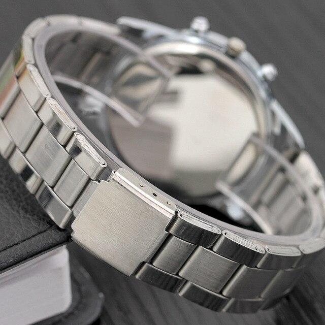 New Men Fashion Watch Hot Brand Casual Luxury Full Stainless Steel Quartz WristWatch relogio masculino mwatches 4