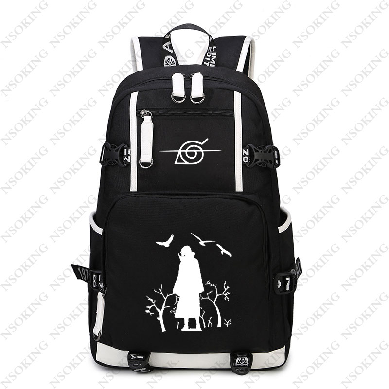 New Naruto Backpack Anime Student School travel bag Uchiha Itachi cosplay laptop bags Boy girl Unisex