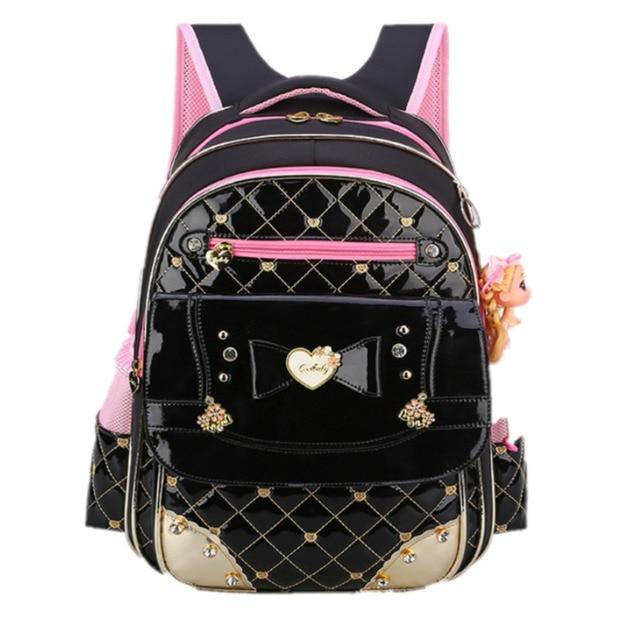 2b34a544e81c Cool Baby Waterproof Pu Randoseru Backpack Girls School Bags for Kids  Primary Students