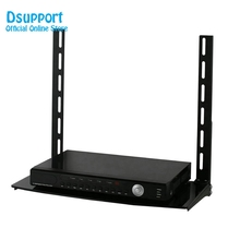 Metal Stamping Brackets TV Holders Low Profile Flat Panel Mount and Glass Entertainment Center Combo
