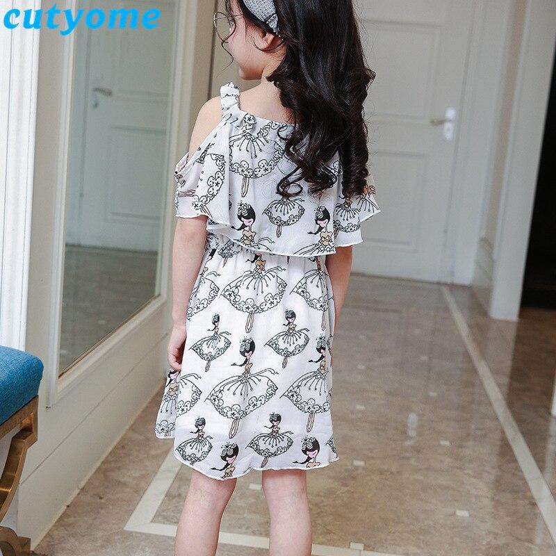 teenage girls chiffion dress08