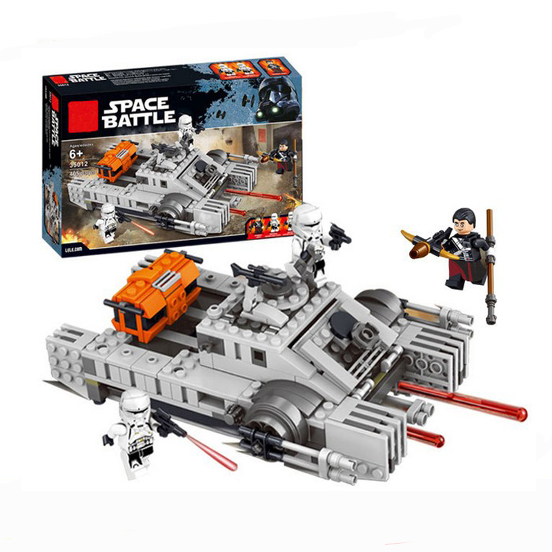 2018 New 35012 Wars Rogue One Star Hovertank Building Bricks Blocks Sets Gift Kids Toys Compatible Starwars 75152 kazi 608pcs pirates armada flagship building blocks brinquedos caribbean warship sets the black pearl compatible with bricks