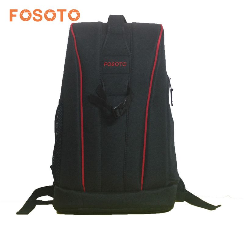 FOSOTO High Quality Waterproof Travel Backpack Photo Video DSLR Camera Shoulder Bag Case With Rain Cover for Canon Nikon Sony benro beyond b200 backpack camera bag nylon waterproof dslr camera bag case for canon nikon camera rain cover