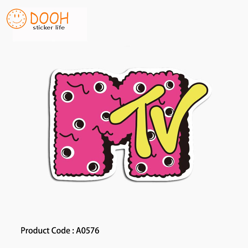 A0576 sticker mtv father robot fat cat graffiti waterproof suitcase laptop guitar luggage DIY skateboard bicycle toy HZ 30