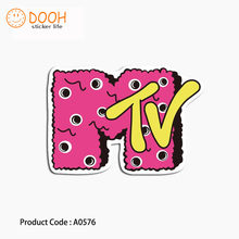 A0576 sticker mtv father robot fat cat graffiti waterproof suitcase laptop guitar luggage DIY skateboard bicycle toy HZ 30(China)