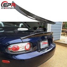 Auto-Styling Epa Type 3 Carbon Fiber Spoiler (Prht Hard Top Alleen) kofferbak Splitter Wing Voor Mazda MX5 Nc Ncec Miata Roadster(Hong Kong,China)