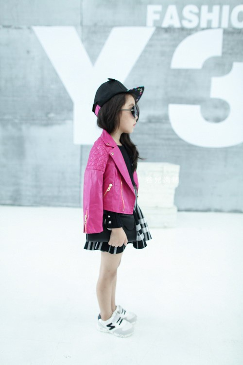 Girls PU Jacket