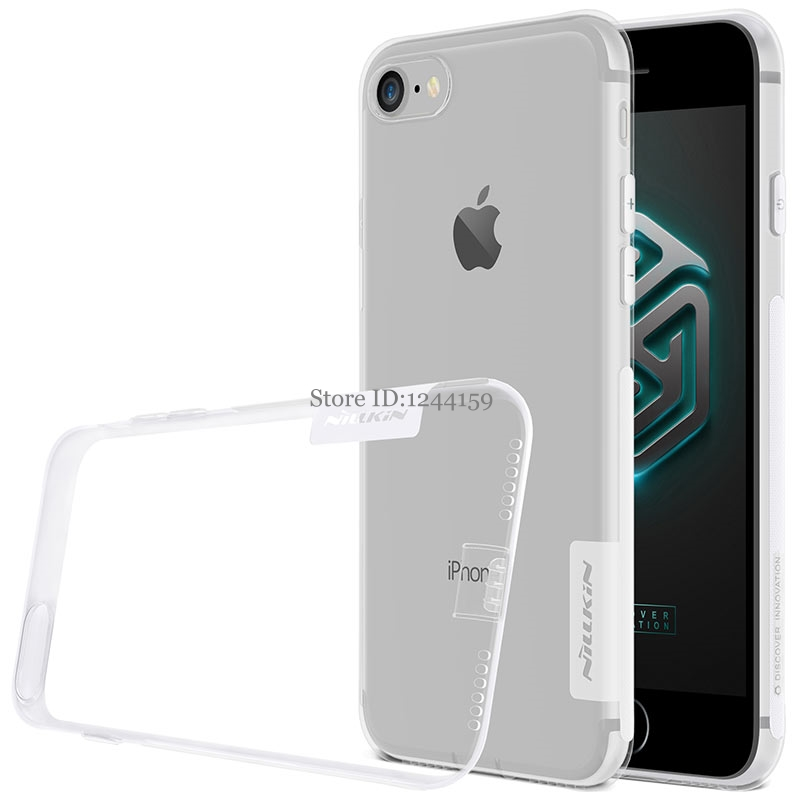 NILLKIN Case for iPhone 7 8 plus case Nature Transparent Soft TPU Case back cover