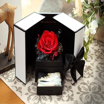 Valentine's day creative rose flowers birthday gift manufacturers direct sales Free Shipping