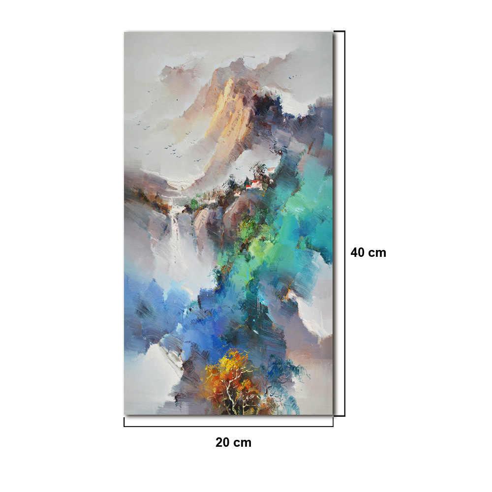 שמן ציור דקור נורדי מודרני נוף בית משרד מלון וילה מועדון קיר אמנות מופשט ציור עיצוב הבית אבזרים