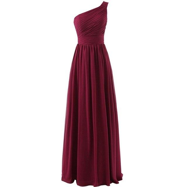 kleid marsala